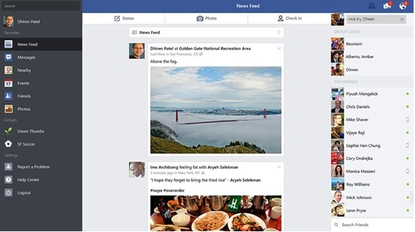 Official Facebook App is Now Available For Windows 8.1 Users