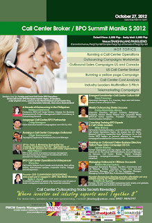 event poster business process outsource contact center customer service CRM philippines