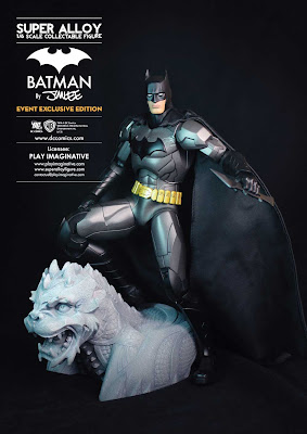 "San Diego Comic-Con 2013 Exclusive Super Alloy 1/6 Scale ""Batman by Jim Lee"" Action Figure by Play Imaginative"