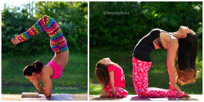 Laurasykora #Yoga #Instagram