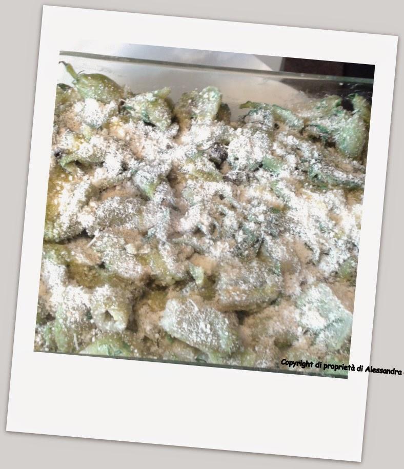 ricetta cicorie al forno