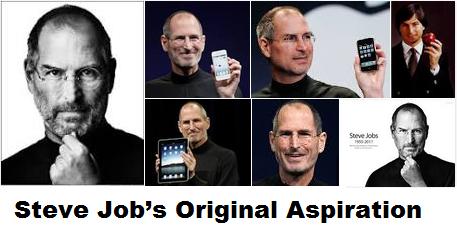 Steve Job's Original Aspiration was to become a Buddhist Monk