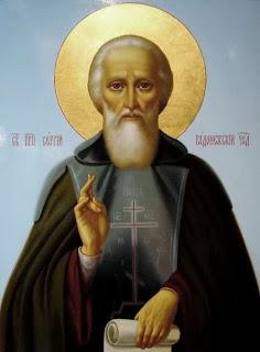 Azi 25 septembrie praznuirea Sfantului Sergie de Radonej !
