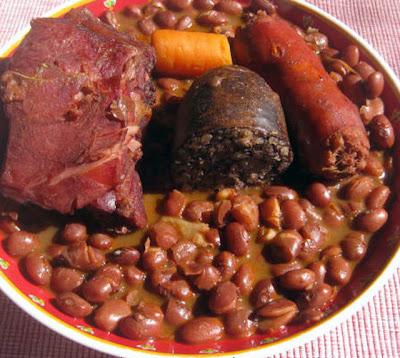 Spaanse bonen-schotel