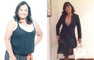 Após cirurgia, Solange Couto perde 20kg em 2 meses