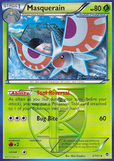 Masquerain Plasma Blast Pokemon Card