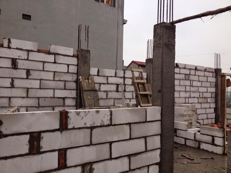 Cập nhật tiến độ dự án chung cư mini Nhật Tảo 6 của Hanoiland đến ngày 15/3/2015