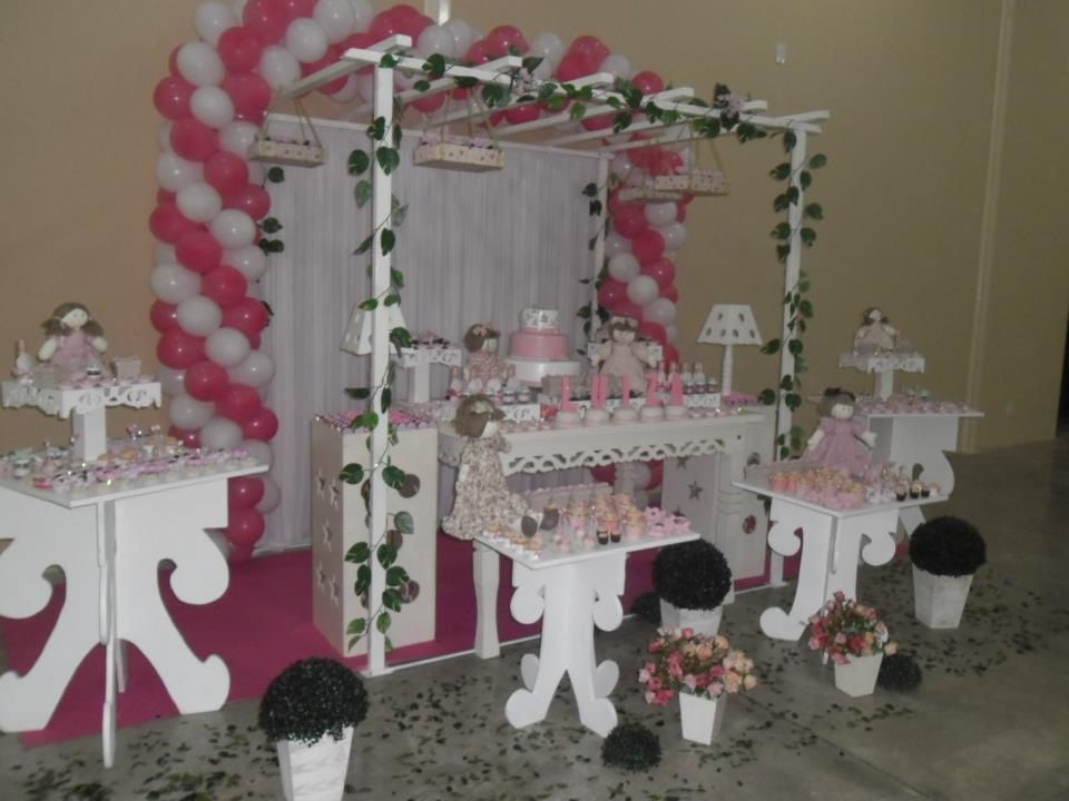 Sempre Kids Festa Infantil Festa Bonecas com Pergolado
