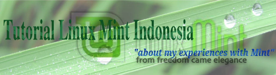 Tutorial Linux Mint Indonesia