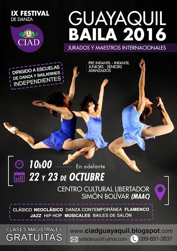 IX FESTIVAL - Sábado 22 y Domingo 23 de Octubre 2015