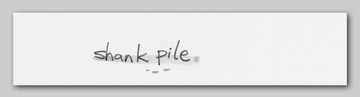 shank pile