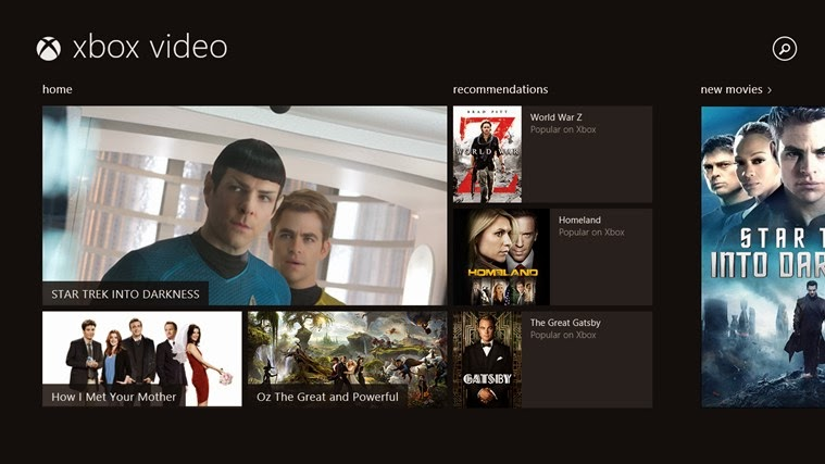 Xbox Video for Windows 8.1 - softwikia