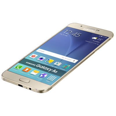 SAMSUNG's slimmest phone Galaxy A8 Dual SIM (SM-A800F) launched in India at ₹32500 with 5.7-inch screen and fingerprint scanner
