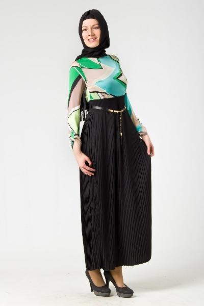 Puane 2012 İlkbahar Yaz Tesettür Elbise