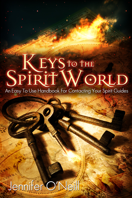 http://www.amazon.com/Keys-Spirit-World-Handbook-Contacting-ebook/dp/B007KDGP7W/ref=sr_1_6_title_0_main?s=books&ie=UTF8&qid=1385511074&sr=1-6&keywords=jennifer+oneill
