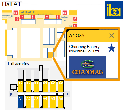 iba 2015 Hall A1 326 Chanmag Bakery Machine