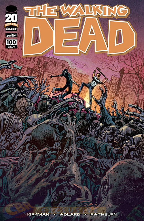 comicpalooza blog  the walking dead issue  100 covers