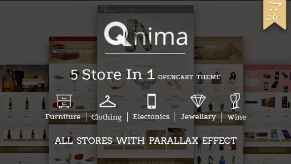 Versatile and Responsive Opencart Theme