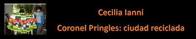 Cecilia Ianni y sus reciclados.