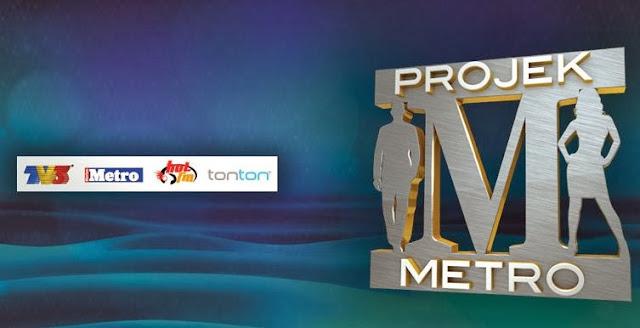LIVE PROJEK METRO 2013 TV3, SIARAN TV PROJEK METRO 2013