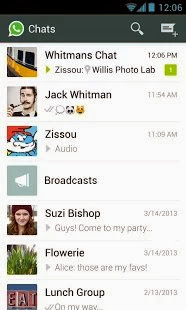 WhatsApp Messenger - chat with your friends