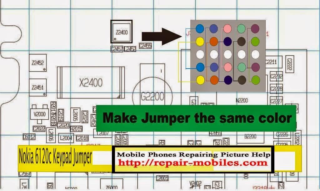 Jumper Keypad Nokia 6120C