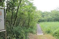 西湿地入り口