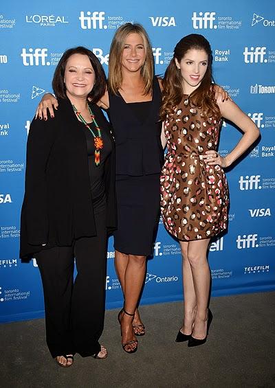 Adriana Barraza, Jennifer Aniston and Anna Kendrick premiers of Cake
