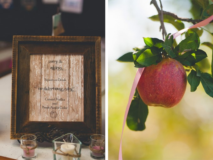 Rustic Fall Orchard Wedding