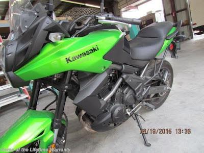 Kawasaki, Motorcycle, Versys