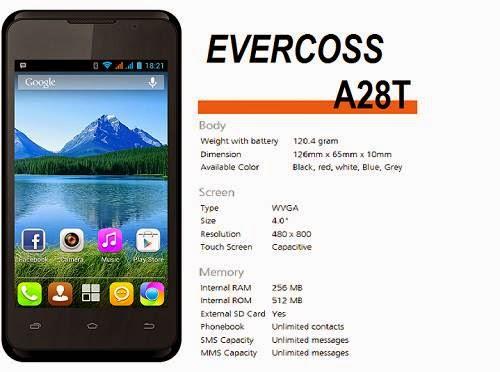 Evercoss AT8