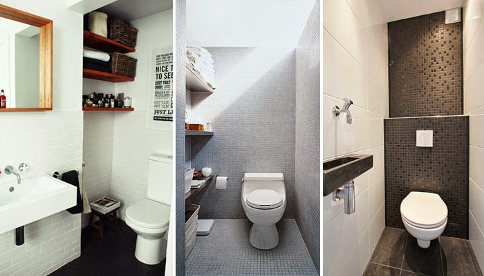 12 very small toilets designed for tiny spaces interior for Small wc design