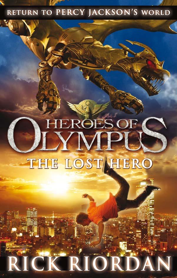 bookomatic review the lost hero by rick riordan