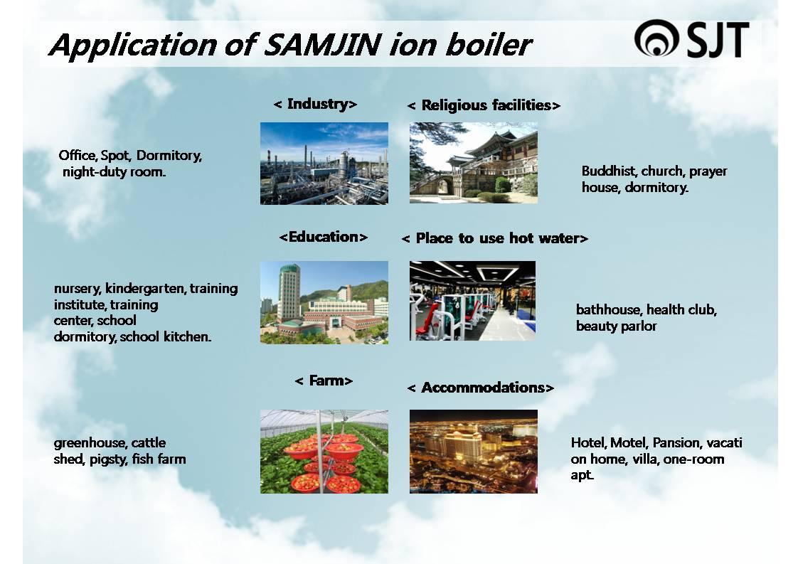 SJT: Introduction of SAMJIN ion boiler