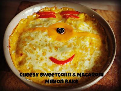 minions, sweetcorn recipes, minion themed food