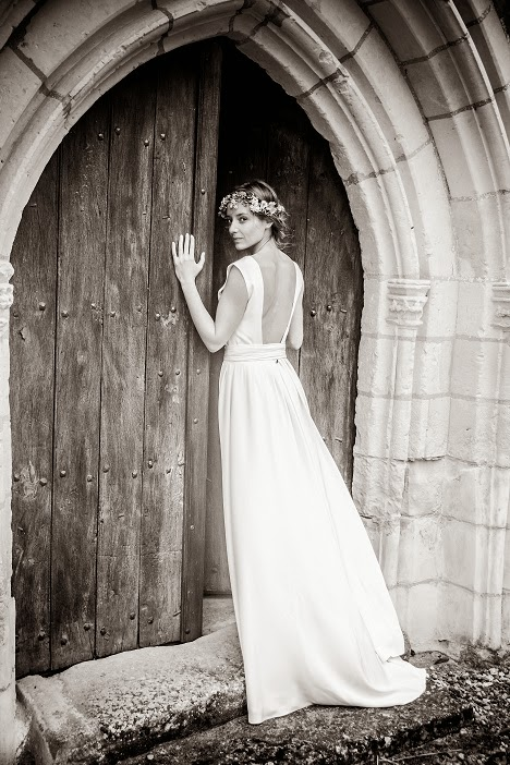 wedding spirit blog mariage robe de mariée Constance Fournier robe décolleté dos