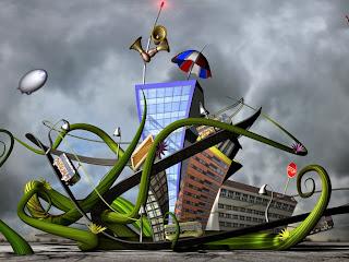 3D zabavni grad slike besplatne pozadine za desktop download