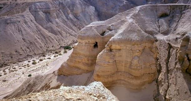Novos textos encontrados nas cavernas dos papiros do Mar Morto