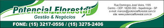 Potencial Florestal Gestão e Negócios tel: (15) 3217-0556 / 3275-2406