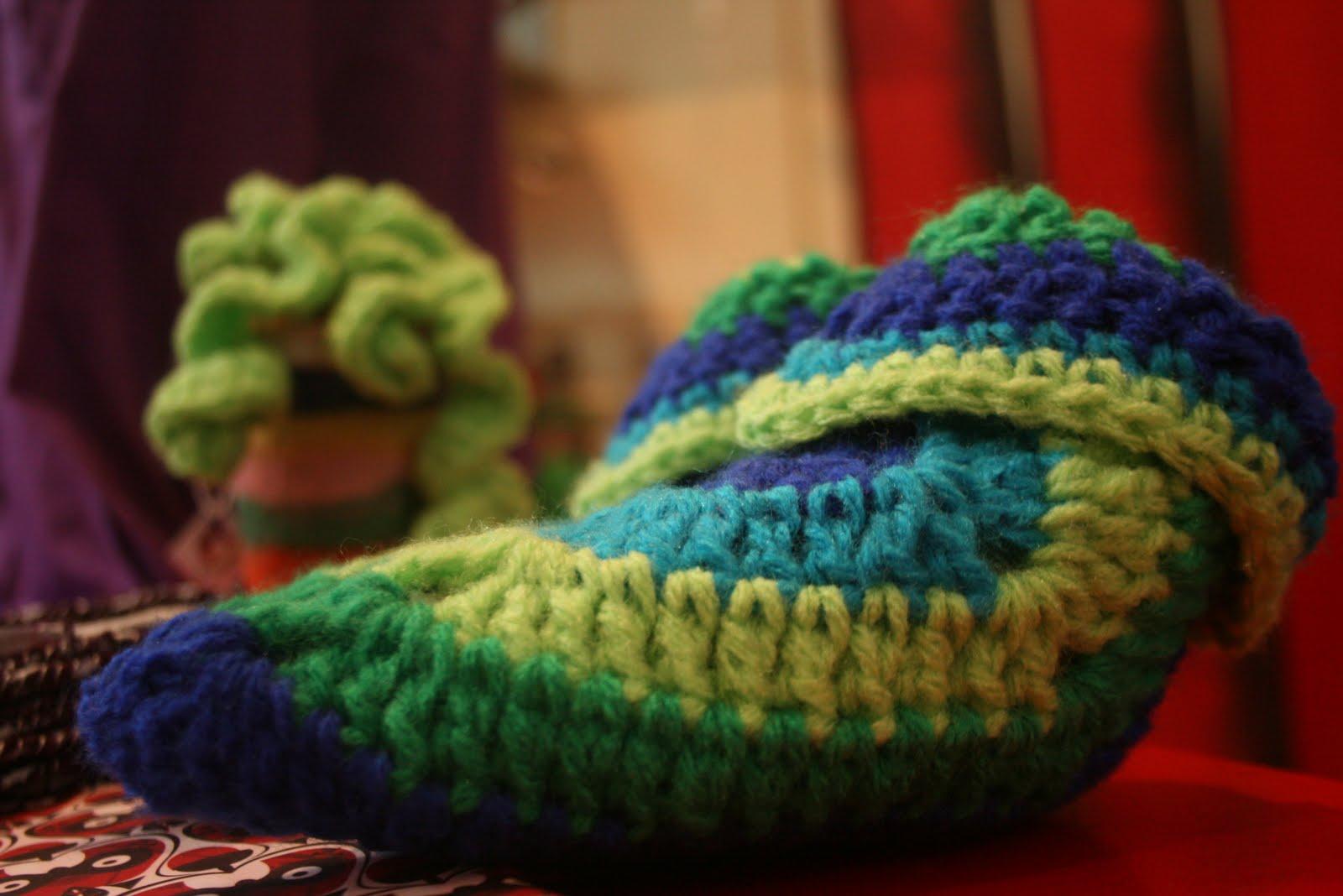 C seminario granny squares cuadraditos pantuflas de - Cuadraditos de crochet ...