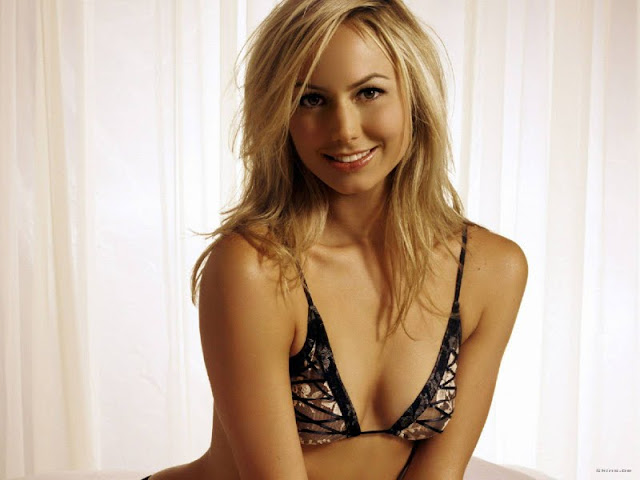 Actress and Model Stacy Keibler