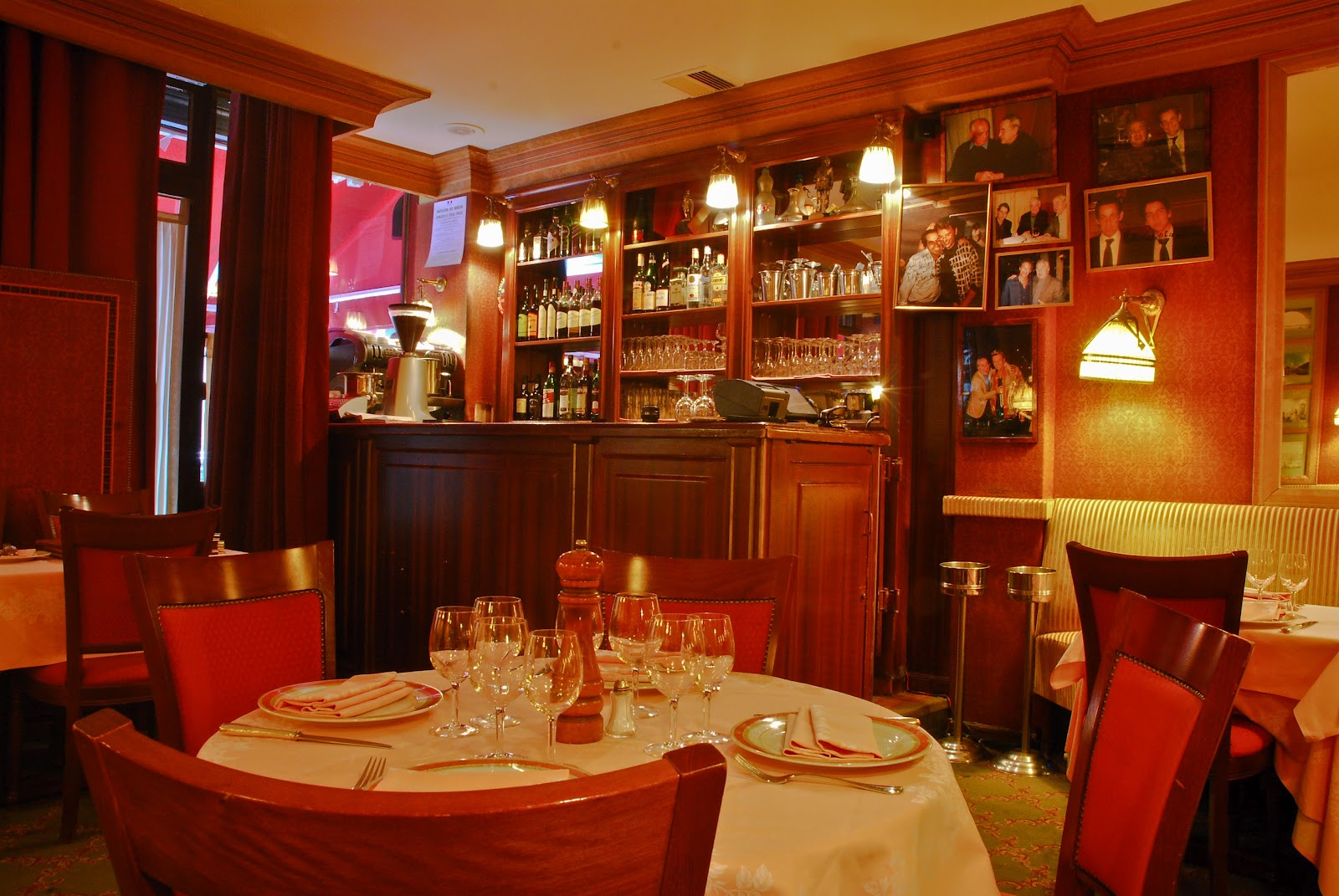 L 39 instant resto giulio rebellato 75 116 paris for Restaurant italien 95