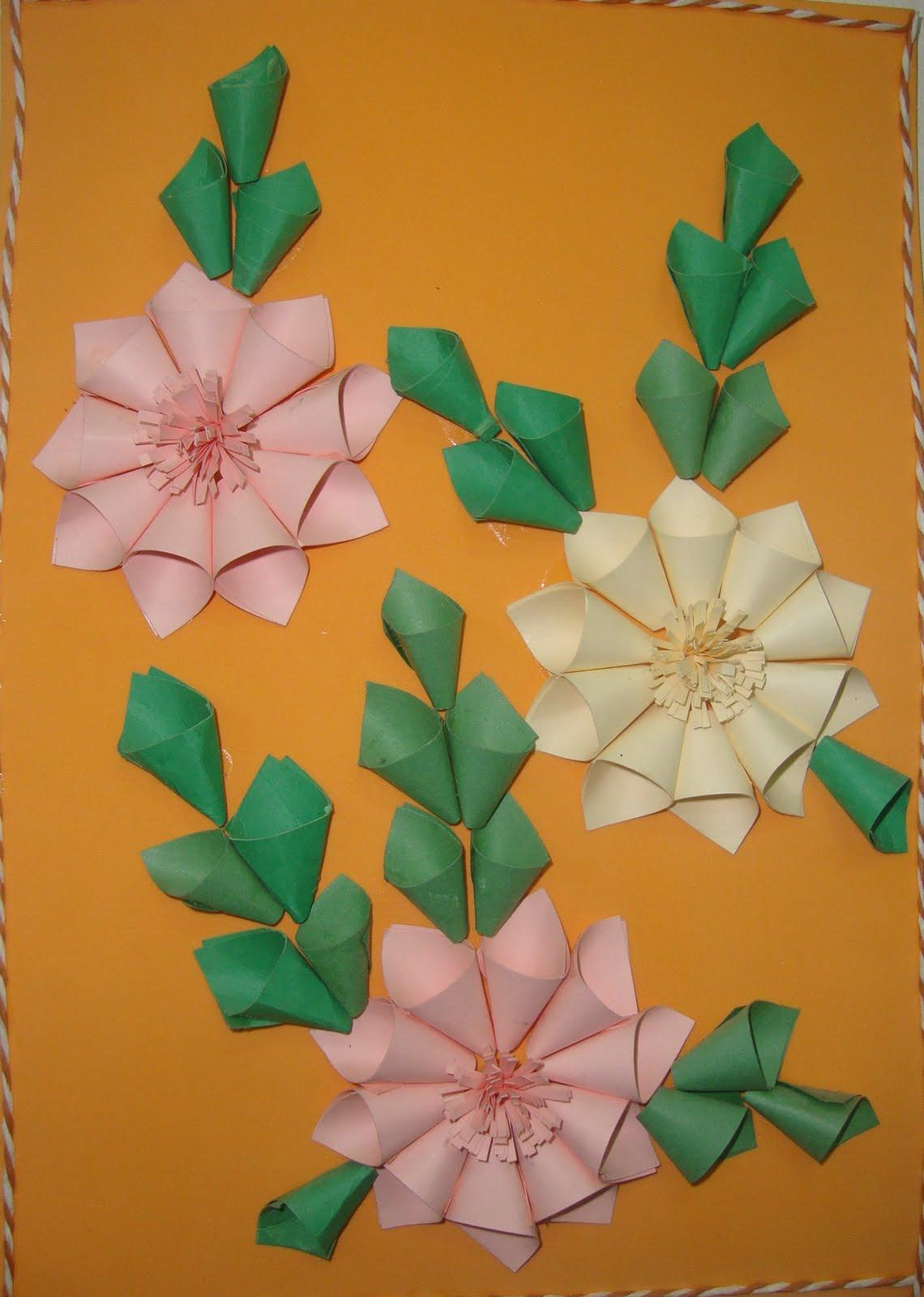 Neenus Handmade Crafts Paper Flower