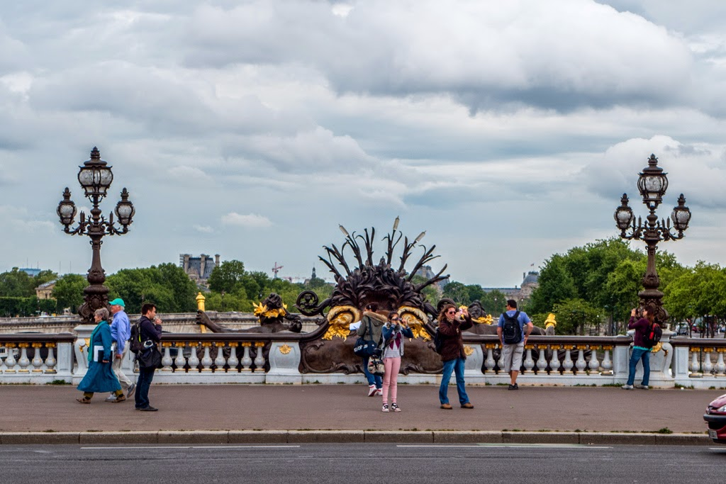 Paris France Pont Alexandre lll