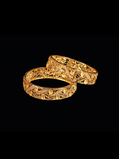 Gold Bangles for Wedding