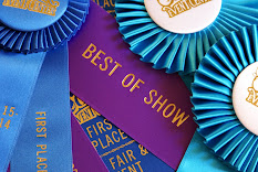 "Blue Ribbons, Division Winner Ribbons and ""Best of Show"" 2011, First Place, etc. 2013"