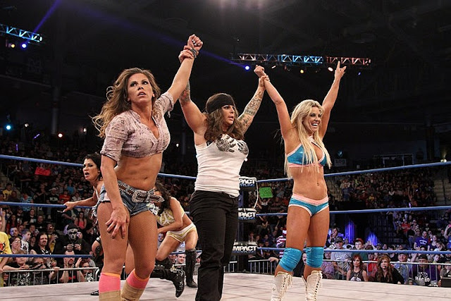 women wrestling, female wrestling, tna knockout