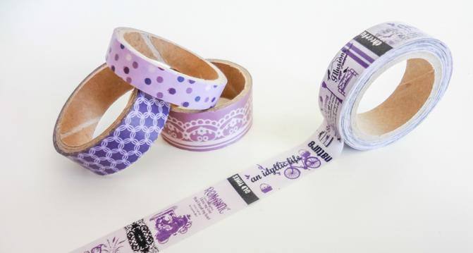 Washi Tape Sammlung