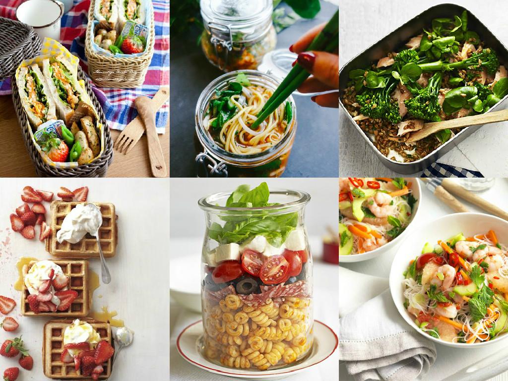 Pasta Salad Jar Trout & Spelt Salad with Watercress Roasted Sweet ...