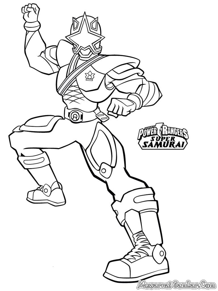 Power Rangers Super Samurai Coloring Pages